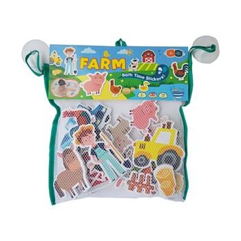 Barney&Buddy: Naklejki do kąpieli farma