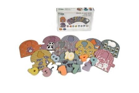 Adam Toys: Puzzle do nauki liczenia 1-10