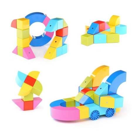 Alilo: Klocki magnetyczne dla dzieci