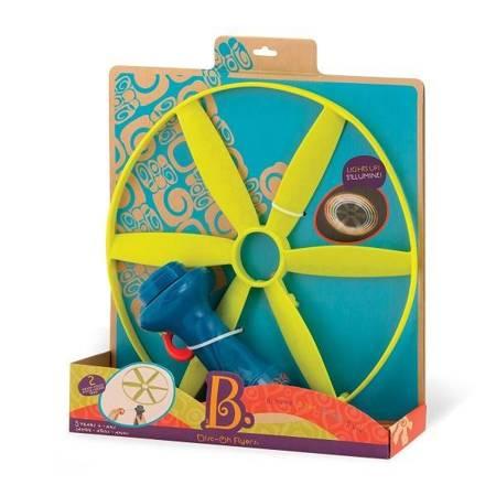 B.Toys: Latający świecący dysk Disc-Oh Flyers