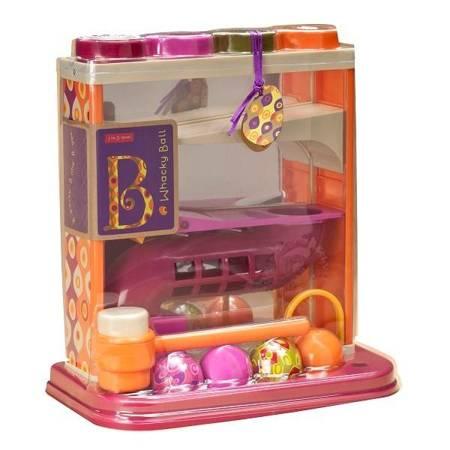 B.Toys: Lustrzany kulodrom z młotkiem