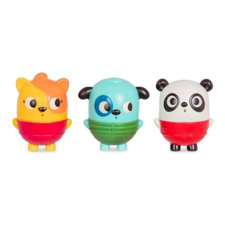 B.Toys: Zestaw trzech rozkręcanych sikawek piesek