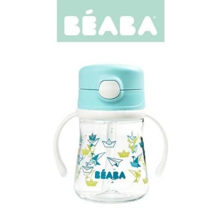 Beaba - Butelka-bidon tritanowa ze słomką 240 ml