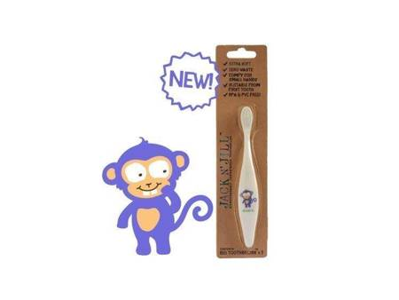 Jack N'Jill: BIO Szczoteczka do zębów, Monkey