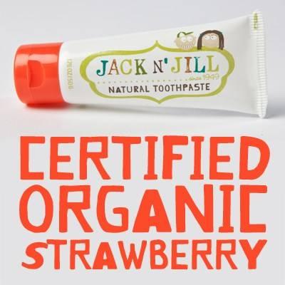 Jack N'Jill: Naturalna Pasta do zębów truskawka