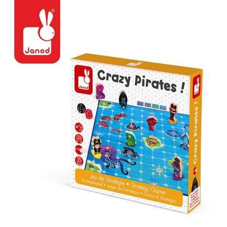 Janod - Gra strategiczna Zwariowani piraci